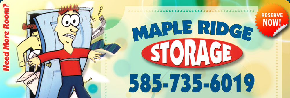 maple ridge storage